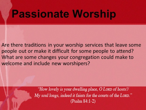 Passionate Worship Discussion